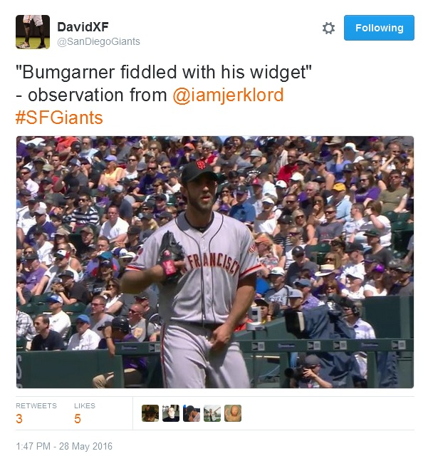 Giants-Bumgarner-Snotrocket-2016-05-28-Widget Fiddle-Tweets