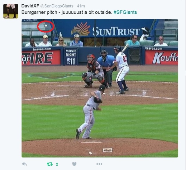 Giants-Bumgarner-Snotrocket-2016-06-02-Just A Bit Outside-Tweet-1