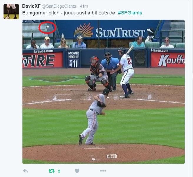 Giants-Bumgarner-Snotrocket-2016-06-02-Just A Bit Outside-Tweet-1
