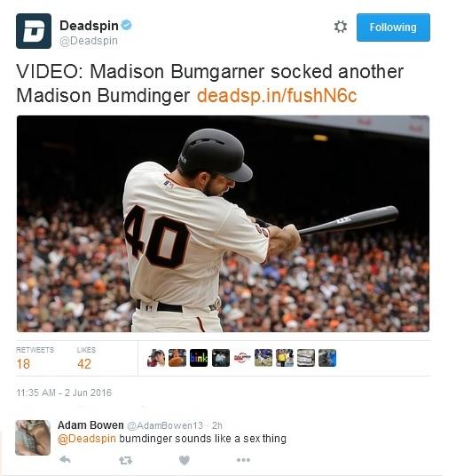 Giants-Bumgarner-Snotrocket-2016-06-02-Tweet-Deadspin-Bumdinger