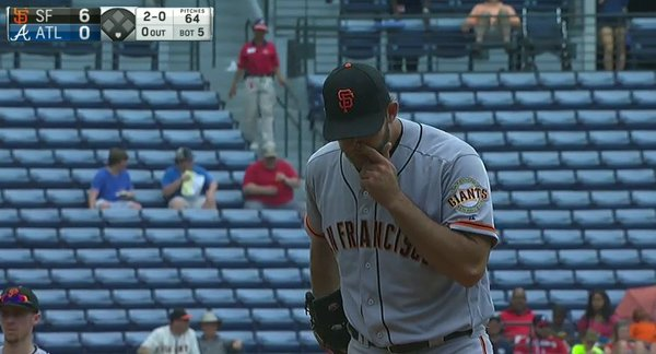 Giants-Bumgarner-Snotrocket-2016-06-02