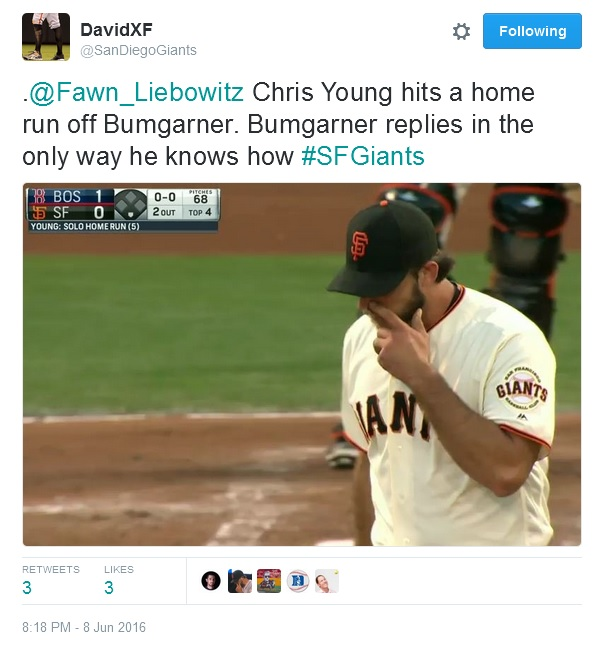 Giants-Bumgarner-Snotrocket-2016-06-08-2-Tweet