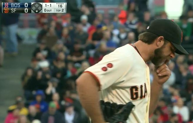 Giants-Bumgarner-Snotrocket-2016-06-08-Double-Right