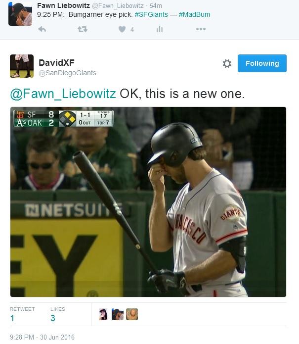 Giants-Bumgarner-Snotrocket-2016-06-30-Eye Pick-Tweet