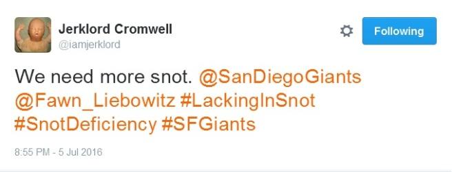 Giants-Bumgarner-Snotrocket-2016-07-05-Tweet-2