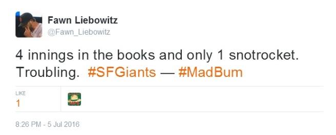 Giants-Bumgarner-Snotrocket-2016-07-05-Tweet