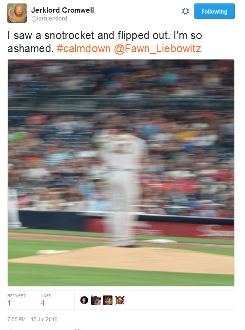 Giants-Bumgarner-Snotrocket-2016-07-15-2-Tweet