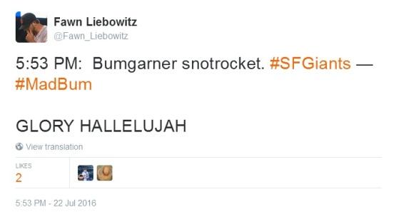 Giants-Bumgarner-Snotrocket-2016-07-22-Tweet-FL-1