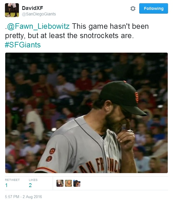 Giants-Bumgarner-Snotrocket-2016-08-02-Tweet