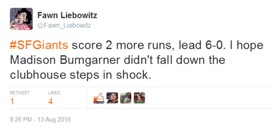 Giants-Bumgarner-Snotrocket-2016-08-13-Tweet-FL-2