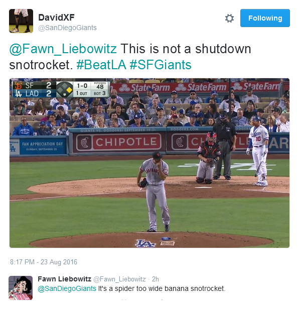 Giants-Bumgarner-Snotrocket-2016-08-23-1-Tweet