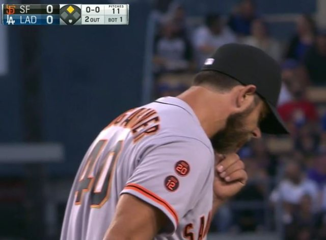 Giants-Bumgarner-Snotrocket-2016-08-23-Double Pump-1