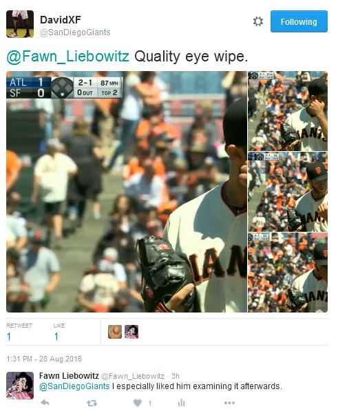 Giants-Bumgarner-Snotrocket-2016-08-28-Tweet-Eye Wipe