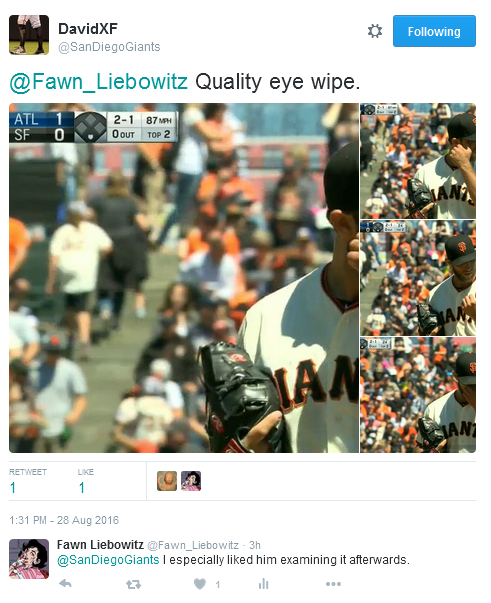 Giants-Bumgarner-Snotrocket-2016-08-28-Tweet-Eye Wipe
