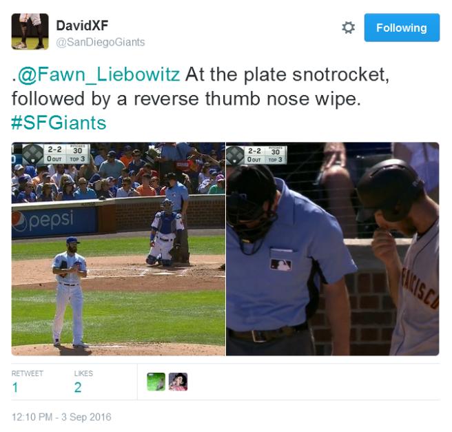 Giants-Bumgarner-Snotrocket-2016-09-03-3-Tweet