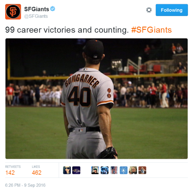 giants-bumgarner-snotrocket-2016-09-09-tweet-sfgiants