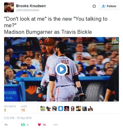 giants-bumgarner-snotrocket-2016-09-19-tweet-brooksknudsen-travis-bickle