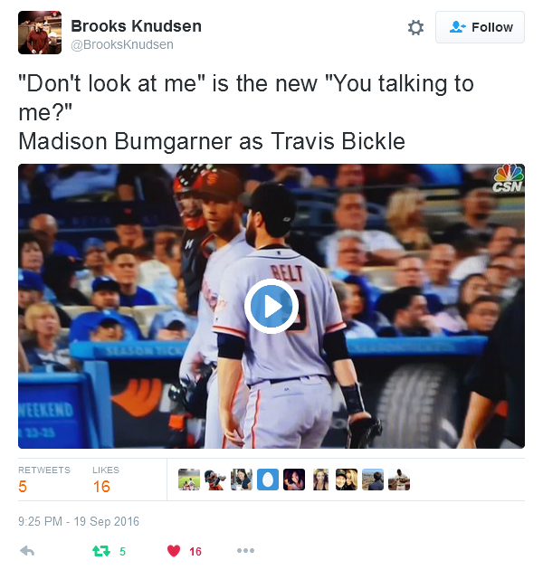 giants-bumgarner-snotrocket-2016-09-19-tweet-brooksknudsen-travis-bickle