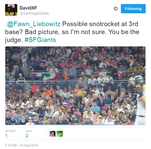 giants-bumgarner-snotrocket-2016-09-24-tweet-not-a-snotrocket