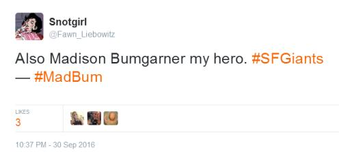 giants-bumgarner-snotrocket-2016-09-30-tweet-my-hero