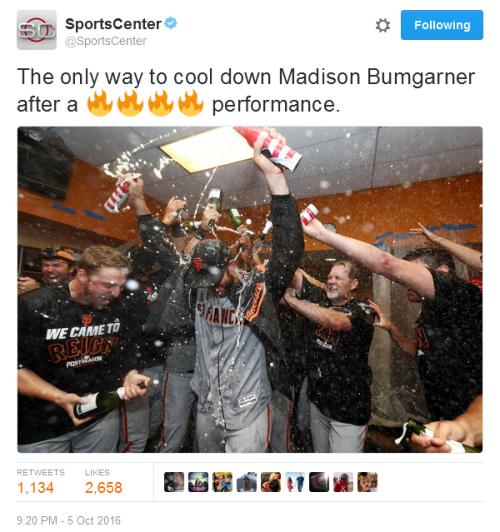 giants-2016-wild-card-celebration-bumgarner-beer-shower-tweet