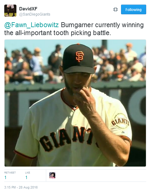 giants-bumgarner-snotrocket-2016-08-28-tooth-pick-tweet